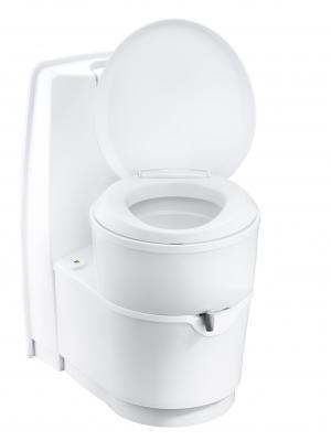 Cassetten-Toilette C 224 CW weiss, Handpumpe