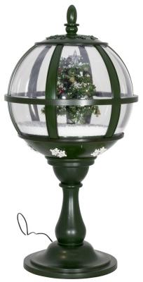 Schneiende LED Tischlaterne 60 cm, BAUM, Indoor- und Outdoor