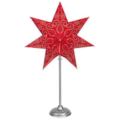Best Season Tisch-Weihnachtsleuchter ANTIQUE MINI rot