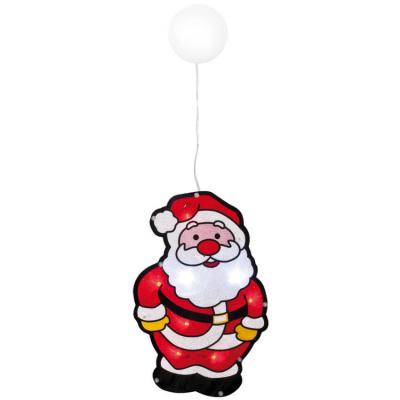 Best Season LED-Fensterbild Weihnachtsmann batteriebetrieben
