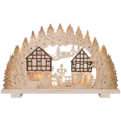 Weihnachtsleuchter, 10 Minilichter,