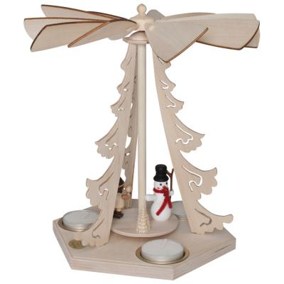 Weihnachtspyramide, für 3 Kerzen,
