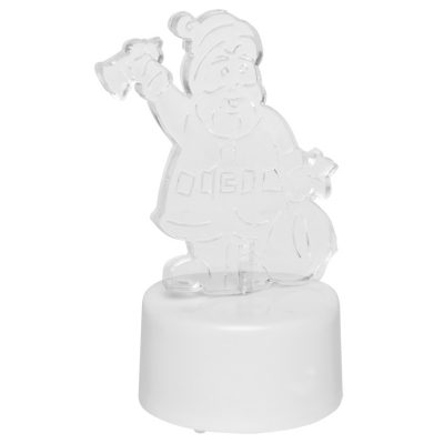 LED-Figur Weihnachtsmann MERRY mit 1 RGB-LED