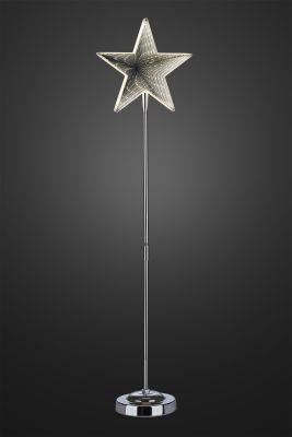 Hellum LED-Infinity-Stern m.Standfuß 75cm 42 BS warmweiß innen