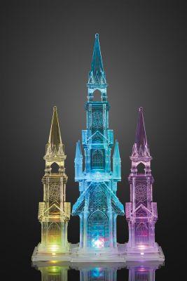 Hellum LED-Kathedrale Acryl 12 BS RGB innen