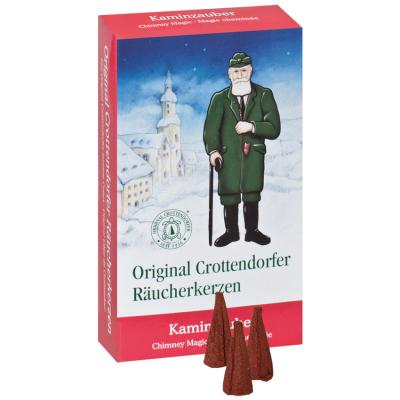 Original Crottendorfer Räucherkerzen, Kaminzauber