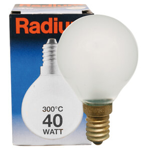 Radium Backofenlampe, E14/40W, Tropfenform,