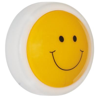 Kindernachtlicht, SMILEY, LED/0,3W, batteriebetrieben