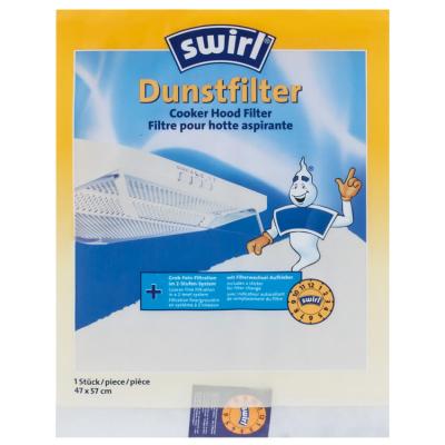 Swirl Dunstfilter, für Dunstabzugshauben,