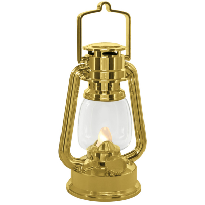 LED-Laterne, 1 warmweiße LED, H 155, flackerndes Licht