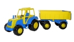 Harzland Traktor mit Anhänger