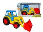 Basics Traktor mit Schaufel  (im Schaukarton)