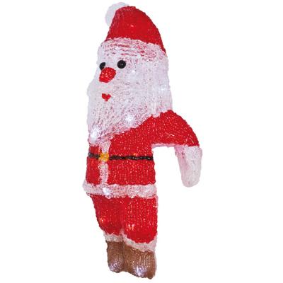LED-Weihnachtsmann, weiße LEDs, Acryl