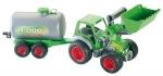 Farmer Technic Traktor + Frontschaufel+Fassanhänger