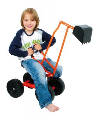 Sandbagger Sitzbagger Sandspielzeug Bagger mit Räder