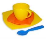 Kaffegedeck 4-teilig im Netz