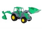 Harzland Traktor mit Heckbagger