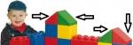 Bausteine 4 Dachschrägen