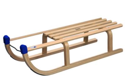Holzrodel, Rodel, Rodelschlitten, Schlitten DAVOS 90 cm