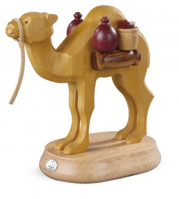 Müller-Kleinkunst aus dem Erzgebirge® seit 1899 Kamel für Räuchermann 16450