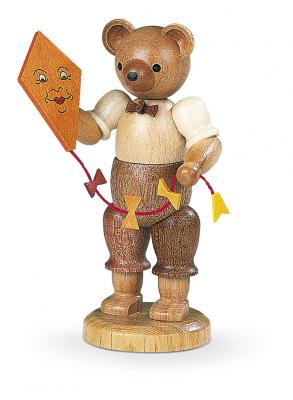 Müller-Kleinkunst aus dem Erzgebirge® seit 1899 Bär mit Drachen