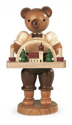 Müller-Kleinkunst aus dem Erzgebirge® seit 1899 Bär Spielzeugmacher
