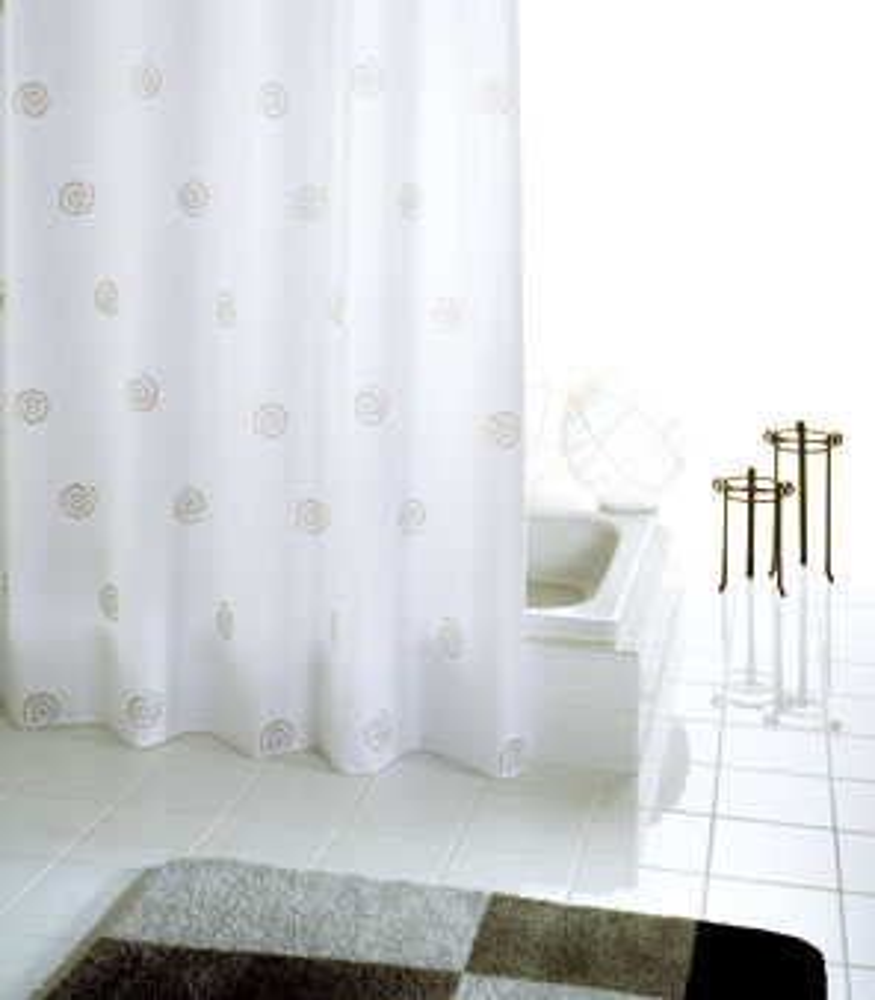 duschvorhang batex stripes textil 180 x 200 cm wei kaufen bei. Black Bedroom Furniture Sets. Home Design Ideas
