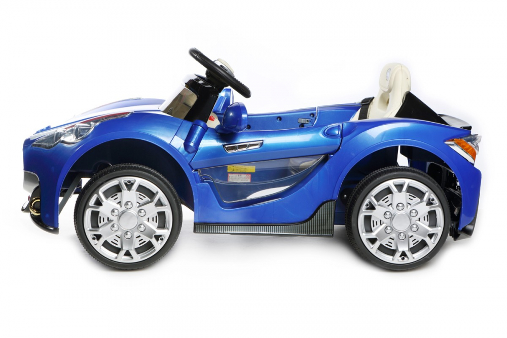 kinder elektrofahrzeug gt roadster 12v blau www. Black Bedroom Furniture Sets. Home Design Ideas