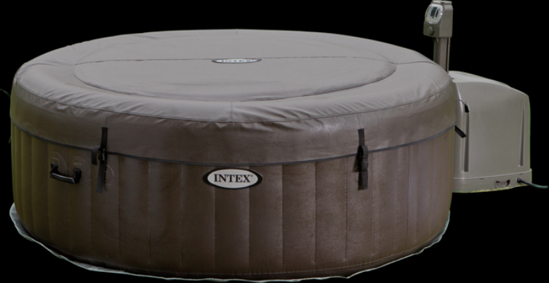 aufblasbarer whirlpool thermo sprudelbad pure spa www versand. Black Bedroom Furniture Sets. Home Design Ideas
