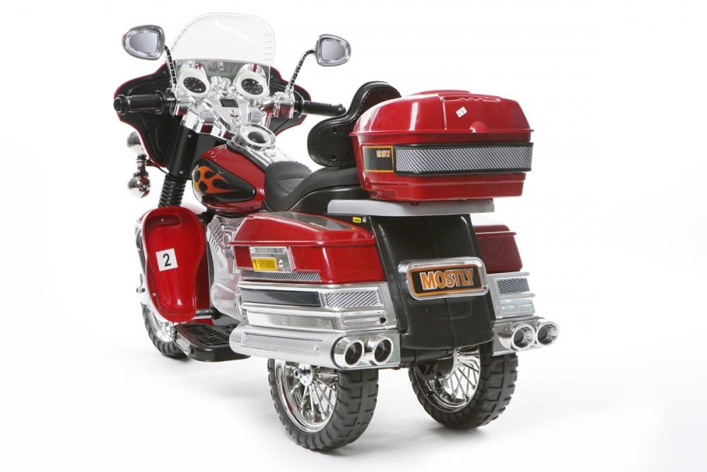 kinder elektrofahrzeug tourenrad rot 12v moto www. Black Bedroom Furniture Sets. Home Design Ideas