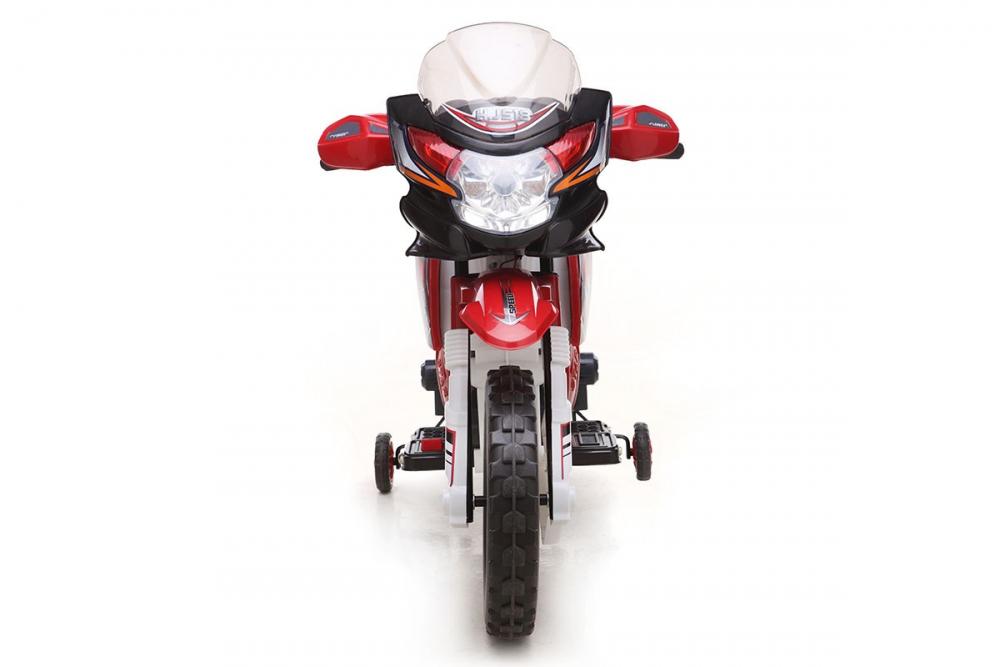 kinder elektrofahrzeug motorrad rot 6v www versand. Black Bedroom Furniture Sets. Home Design Ideas