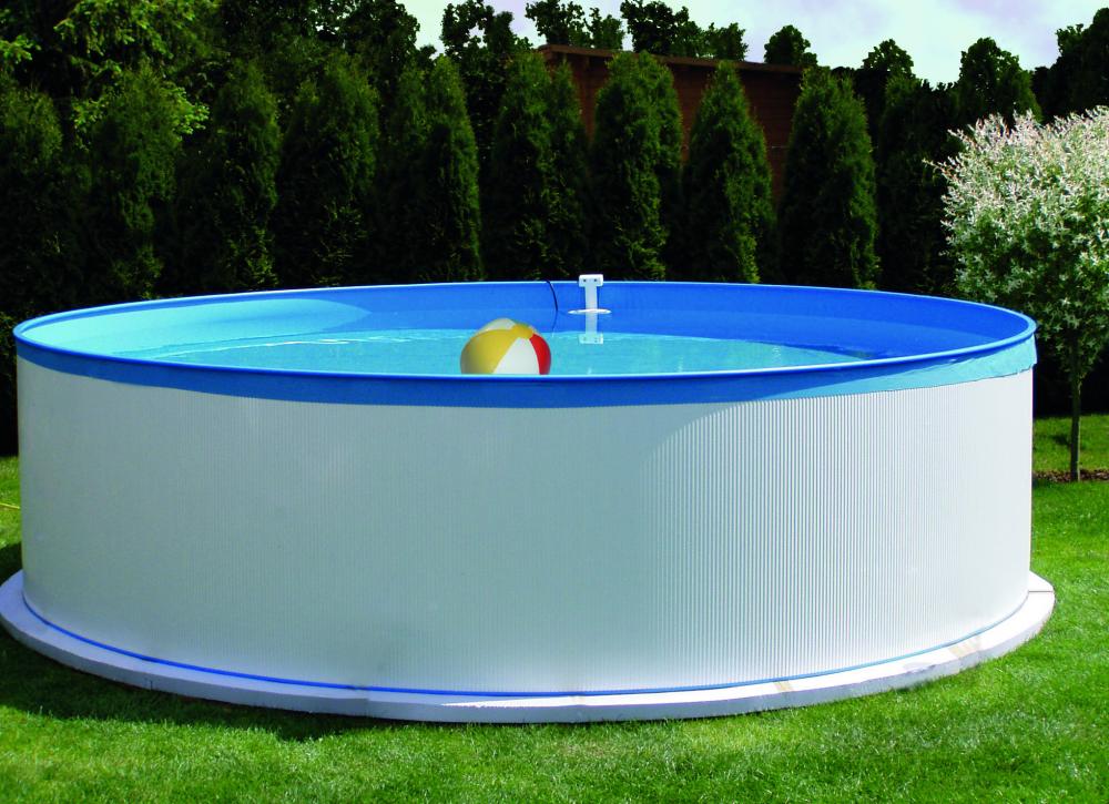 Stahlwandpool set new splasher schwimmbecken swimmingpool for Stahlwandpool angebot