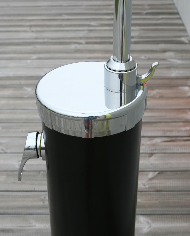 speedshower alu solardusche mit led duschkopf www versand. Black Bedroom Furniture Sets. Home Design Ideas