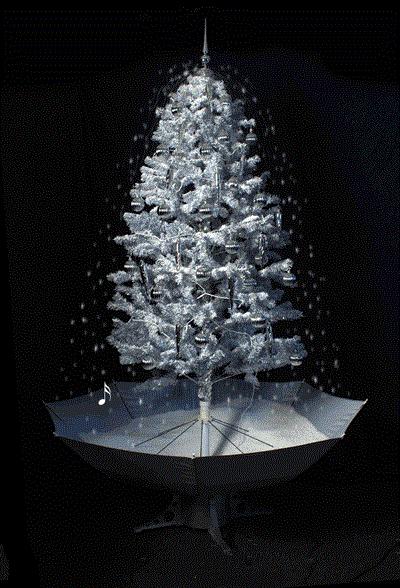weihnachtsbaum mit schneefall schnee led licht musik 2 m. Black Bedroom Furniture Sets. Home Design Ideas
