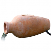 Ubbink AMPHORA I - Terracotta-Amphore, Wasserspiel inkl. Filter - 900l/h, inkl.Anschlussmaterial - H60 x 30 x 28 cm