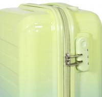 Kofferset 3 tlg. Trolleyset Reisekoffer Hartschale Lugano grün