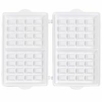 Syntrox Waffelplatten für Chef Maker SM-1500W Ceramic