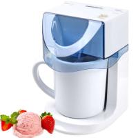 Syntrox 3 in 1 Eismaschine, Frozen Jogurt-Milchshake Maschine