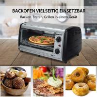 Syntrox 12 Liter Mini Backofen mit Pizzarost