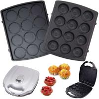 Syntrox Muffinmaker Cupcake XXL mit herausnehmbaren Platten