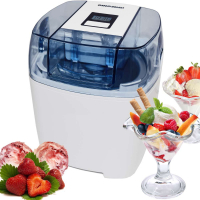 Syntrox Eismaschine Digital mit Timer Frozen Joghurt Maschine