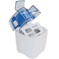 Syntrox Eismaschine Pamplona für Softeis & Frozen Joghurt