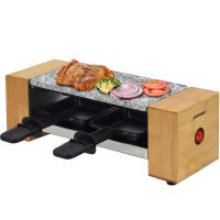 Syntrox Raclette-Grill Set Biel mit Wechselplatten für 2 Personen Grill