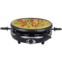 Syntrox 4 in 1 Raclette Crepemaker Grill Pancakemaker