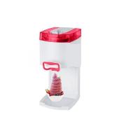 Syntrox Softeismaschine Eismaschine Frozen Joghurt Maschine 4in1 rot