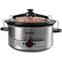 Syntrox Syntrox Germany Digitaler Slow Cooker 6,5 Liter mit Timer