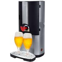 Syntrox Bier-Zapfanlage mit thermoelektrischer Kühlung für 5 Liter Fässer