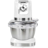 Syntrox Küchenmaschine Knetmaschine Edelstahl-Behälter, 4 Liter, Syntrox Germany cream