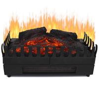 Syntrox Elektrischer Kamineinsatz mit Heizung und Flammeffekt