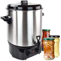 Syntrox Einkochautomat Glühweinkocher 27 Liter Edelstahl